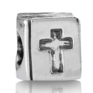 Discontinued Pandora bible charm